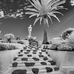 1st -  Print League 3 Open Mono - Monument to the Working Man, Lanzarote by Roy Ward
