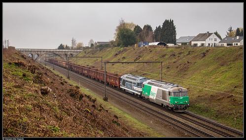 SNCF 467579 + 467629 @ Braine-le-Comte