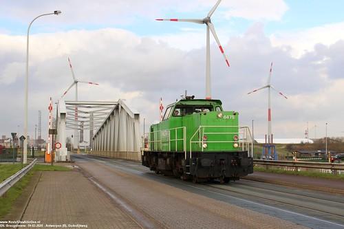 Railtraxx 6475 - Antwerpen R.O.(B) 04-03-2020.