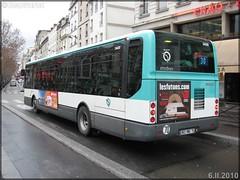 Irisbus Citélis Line – RATP (Régie Autonome des Transports Parisiens) / STIF (Syndicat des Transports d'Île-de-France) n°3430