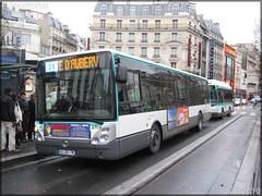 Irisbus Citélis Line – RATP (Régie Autonome des Transports Parisiens) / STIF (Syndicat des Transports d'Île-de-France) n°3709