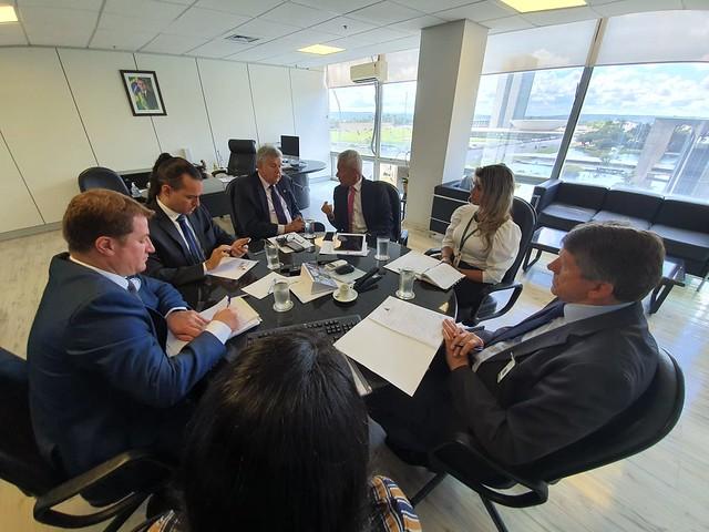 04/03/2020 Audiência Ministério da Saúde e Prefeitura de Carazinho