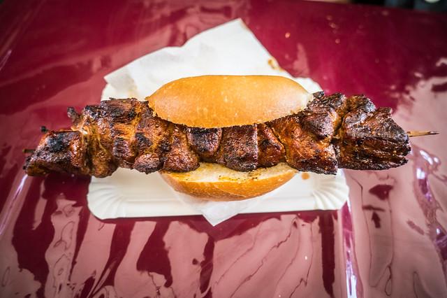 Pork Chop on a Bun!