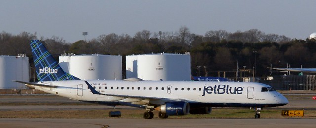 N281JB EMB190 Jet Blue Airways ATL 200120
