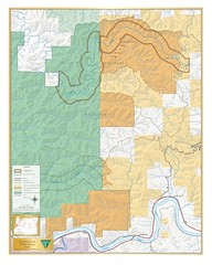 Wasson Creek Wild and Scenic River Map