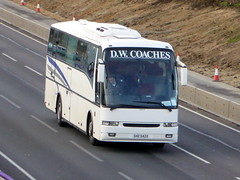 D W Coaches of Clay Cross, Derbyshire
