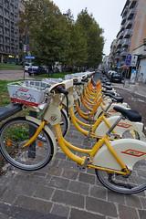 Bike Mi station @ Piazzale Lodi @ Milan