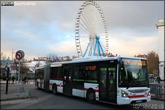 Iveco Bus Urbanway 18 – Keolis Lyon / TCL (Transports en Commun Lyonnais) n°2304