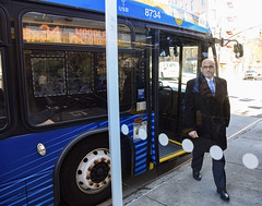 Bus Chief Cipriano Rides Bronx Routes as Part of Network Redesign Outreach