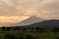 Mt Meru With the Sunset