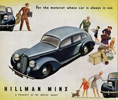 Hillman Minx Phase I, 1940-47