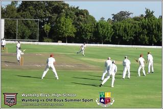 WBHS Summer Sport: Wynberg vs Old Boys, Album II