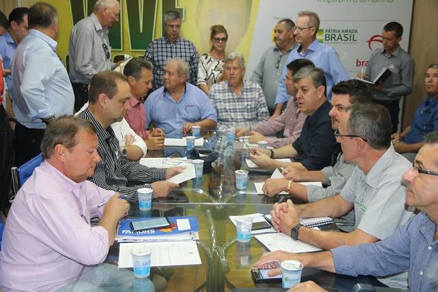 06/03/2020 Reunião da bancada gaúcha na sede da Cotrijal na Expodireto