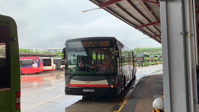 SMRT Buses - Mercedes-Benz O405G (Hispano Habit) TIB1239E on 912B