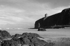 Mussenden Temple Black and White