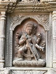 More fabulous carvings in the Lalitpur/ Patan museum