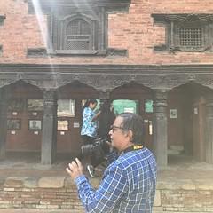 On Keshav Narayan Chowk in the Lalitpur/ Patan museum