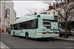 Heuliez Bus GX 317 GPL – Keolis Tours / Fil Bleu n°551