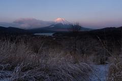 First light hitting the mountain, Fujimisakidaira