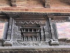More fabulous wood carving in the Lalitpur/ Patan Durbar square