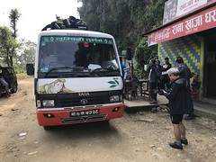 This Tata 709 model seems to rule the roads in Nepal