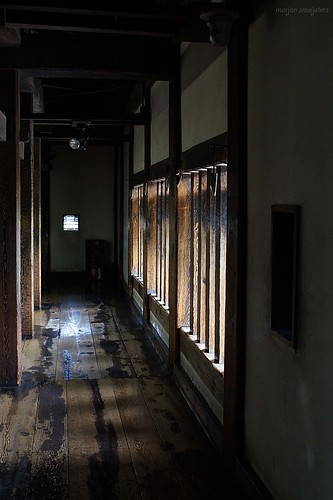 Second floor of the Matsumoto Castle (松本城, Matsumoto-jō), Matsumoto City, Nagano, Japan
