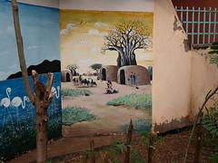 Village Mural, English Primary School, Moshi, Tanzania