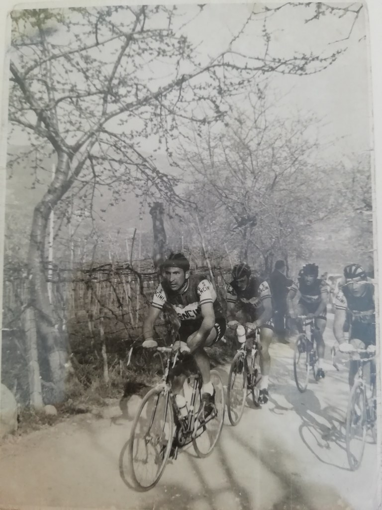 Palio del Recioto 1963 - Giorgio Cordioli in azione