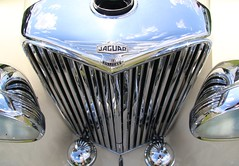 GKY802 1948 Jaguar detail Lincs rally 170819