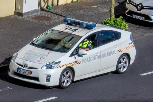 Polícia Municipal Ponta Delgada - Toyota Prius
