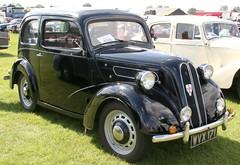WVX171 1953 Ford Anglia Lincs rally 170819