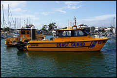 Redcliffe Coast Guard vessels at Scarborough-1