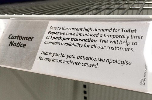 TP Notice at Coles