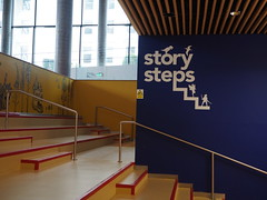 Library of Birmingham_Children's Library_story steps_P8030459