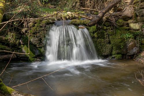 Cascade sur le Bozançon