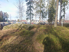 Pump track utsikten, Folkeparken, Askim,Indre Østfold, Viken, Norway