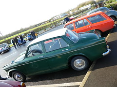 Hillman Minx Series VI (1965) & Hillman Hunter DL1725 Estate (1973)