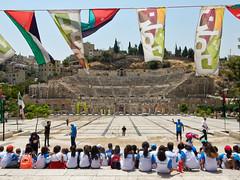 Jordan, Amman - Open air class - July 2017