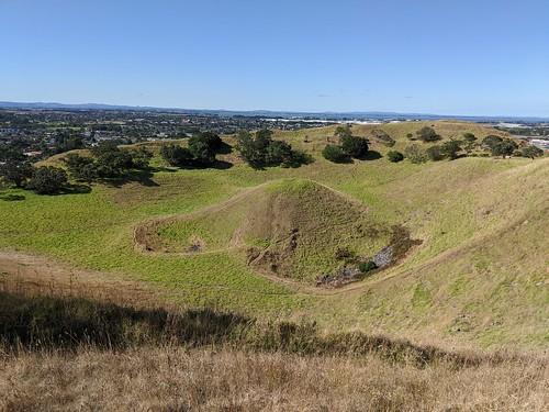 Mangere Mountain, Auckland, New Zealand