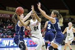 2020 MIAA Women's Basketball Tournament-Quarterfinals: UCM vs Washburn