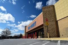 Former Walmart in Leesburg, Virginia, February 27, 2020