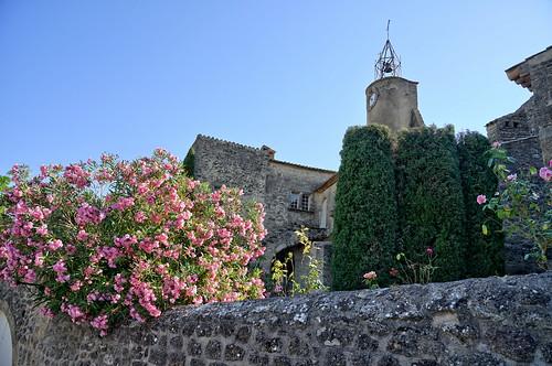 Flowered bell tower