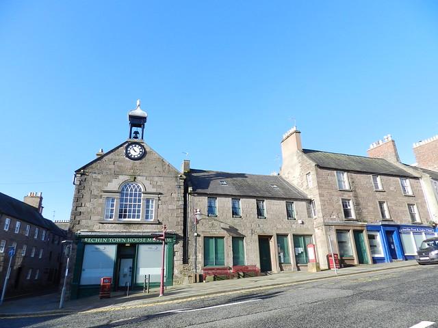 Brechin Town House Museum, Brechin, Angus, Feb 2020