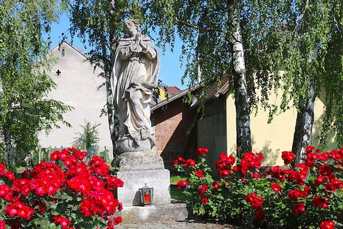Deinzendorf. Maria Immaculata, 1745 - Rokoko