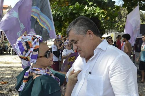 Ato dia internacional da mulher em Fortaleza