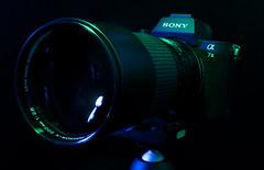 Sony a7II + Minolta Rokkor-X 200mm f/2.8