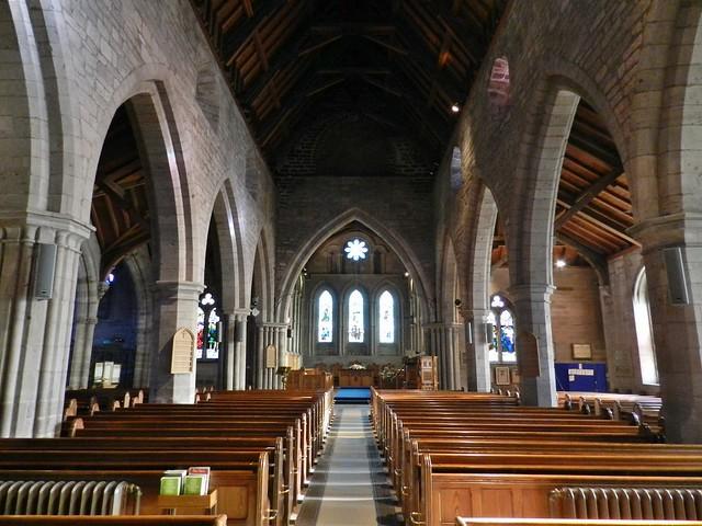 Brechin Cathedral Interior, Brechin, Feb 2020