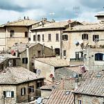 Sattelite Dishes Volterra Tuscany by Dave Minty