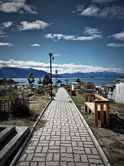The Cemetery, Puerto Guadal, Patagonia,Chile