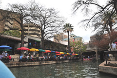 River Walk, San Antonio, tour boat, view